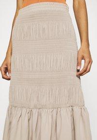 JUST FEMALE - ETIENNE SKIRT - A-line skirt - cobblestone - 4