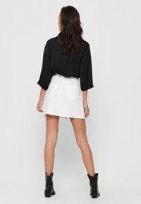 JDY - Button-down blouse - black - 2