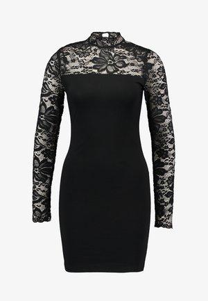VMWILDE BODYCON DRESS - Pouzdrové šaty - black