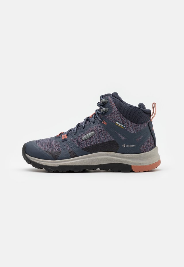 TERRADORA II MID WP - Outdoorschoenen - blue nights/redwood