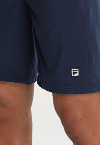 Fila - SANTANA - Korte sportsbukser - peacoat blue - 3