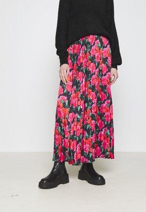 VIKAYLEE ANKLE SKIRT - Maxi skirt - black