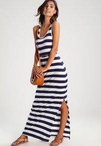 Zalando Essentials - Maxi dress - navy/off-white - 2