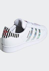 adidas Originals - SUPERSTAR W - Baskets basses - ftwwht/trupnk/cblack - 3