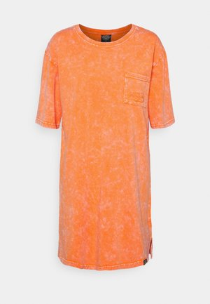 KENDALL - Jersey dress - orange