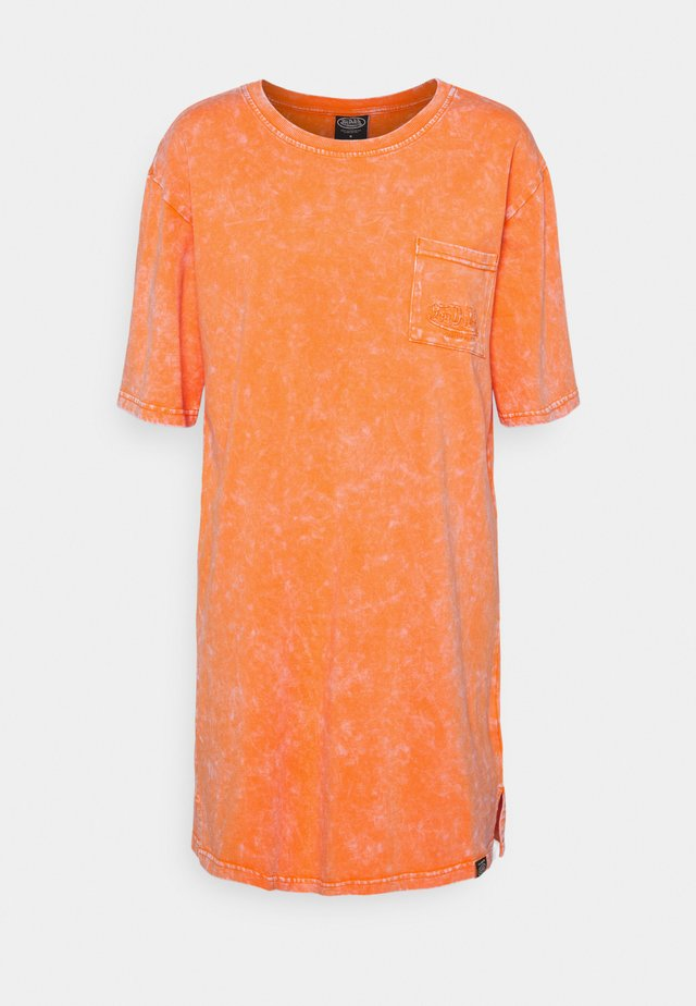 KENDALL - Jersey dress - orange