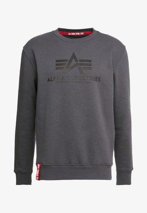 Sweatshirt - greyblack/black