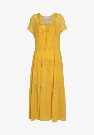 Robe d'été - bright gold