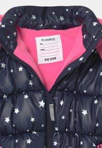 Blue Seven - KIDS GIRLS HIGHNECK - Winter jacket - nachtblau - 3