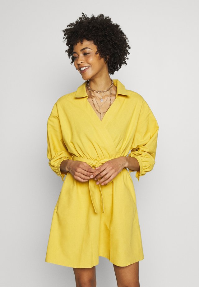 SARI - Day dress - yellow