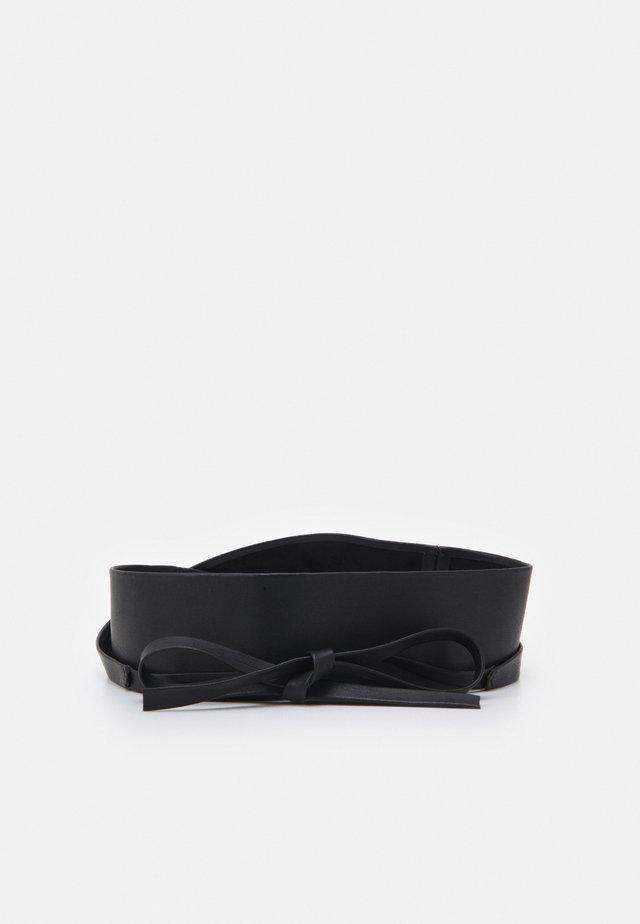 WAIST BELT CURVE - Pásek - black