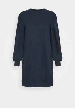 JDYMATHILDE DRESS - Jerseykjoler - navy blazer