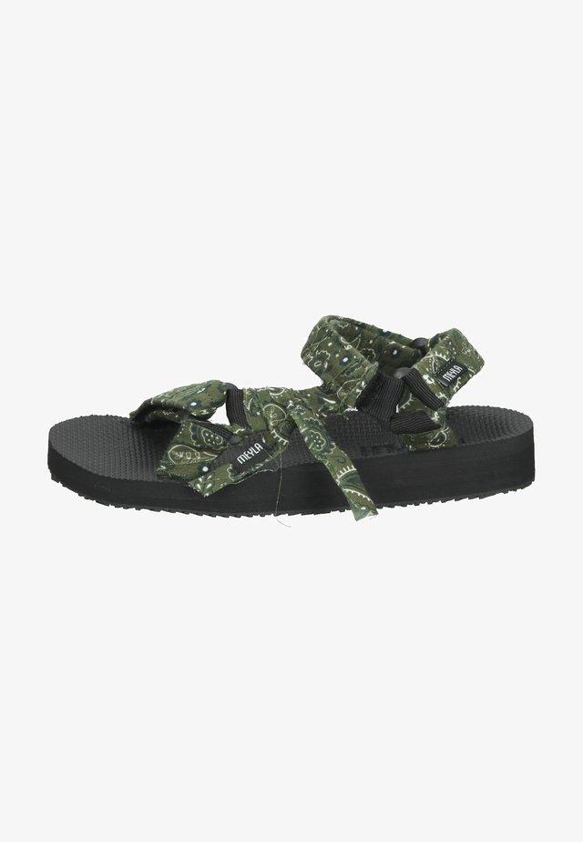 Sandalen met plateauzool - bandana forest