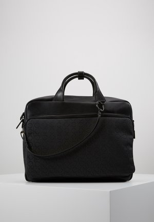MONO BLEND LAPTOP BAG - Aktówka - black