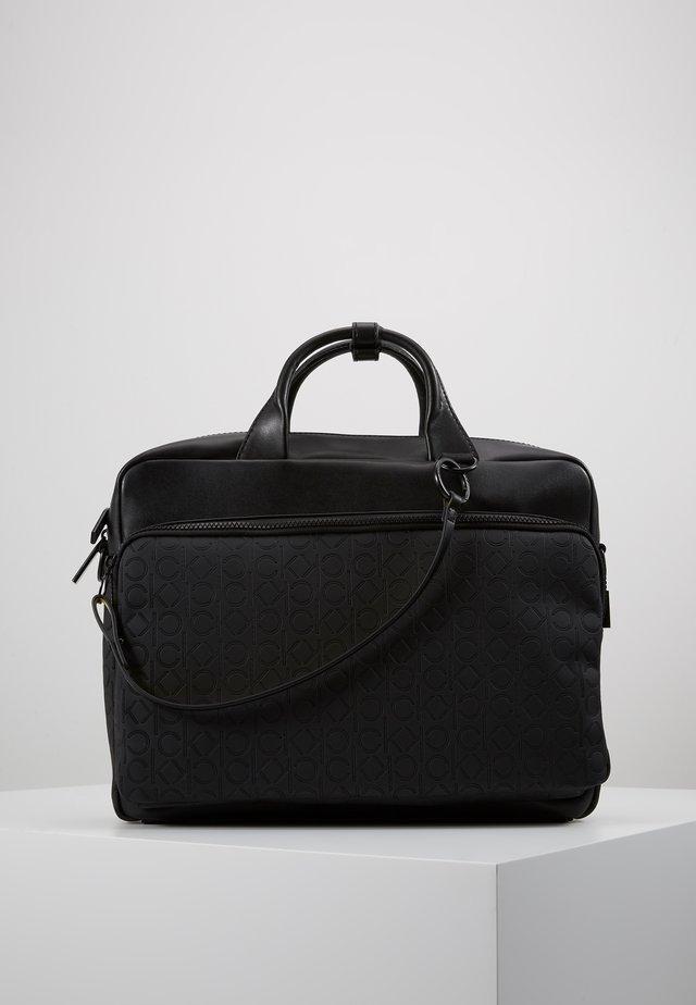 MONO BLEND LAPTOP BAG - Briefcase - black