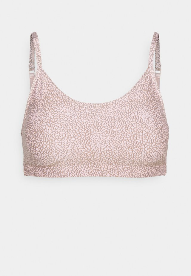 WORKOUT YOGA CROP - Sport-bh met light support - pink