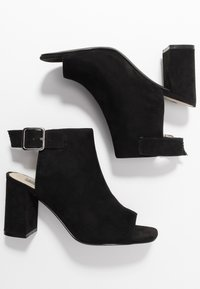 Nly by Nelly - OPEN TOE CITY  - High heeled sandals - black - 3
