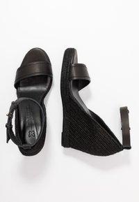 WEEKEND MaxMara - RAGGIO - High heeled sandals - schwarz - 3