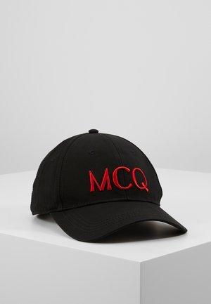 Cap - black/red