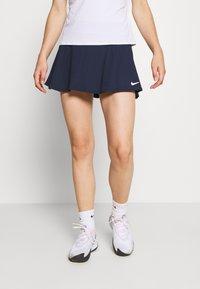 Nike Performance - FLOUNCY SKIRT - Sportovní sukně - obsidian/white - 0