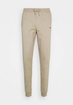 Tracksuit bottoms - dark sand