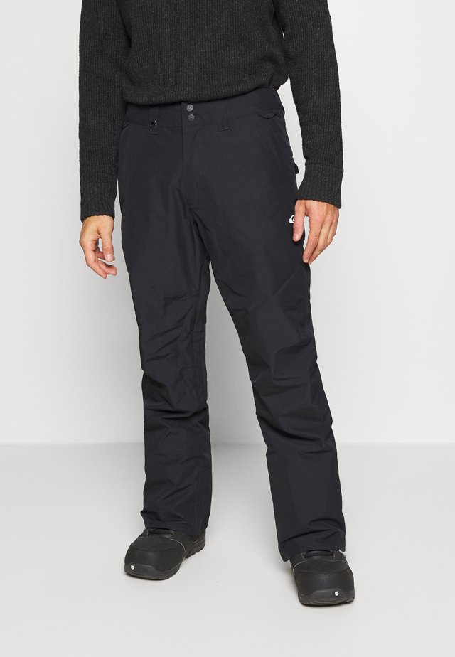 ESTATE - Snow pants - true black