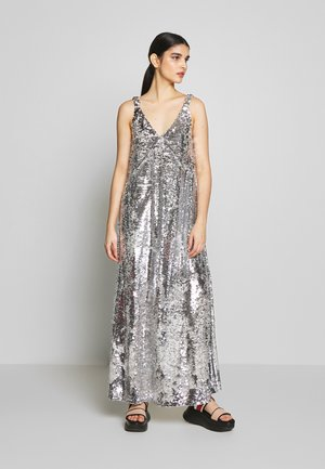 KELSEY DRESS - Abito da sera - silver