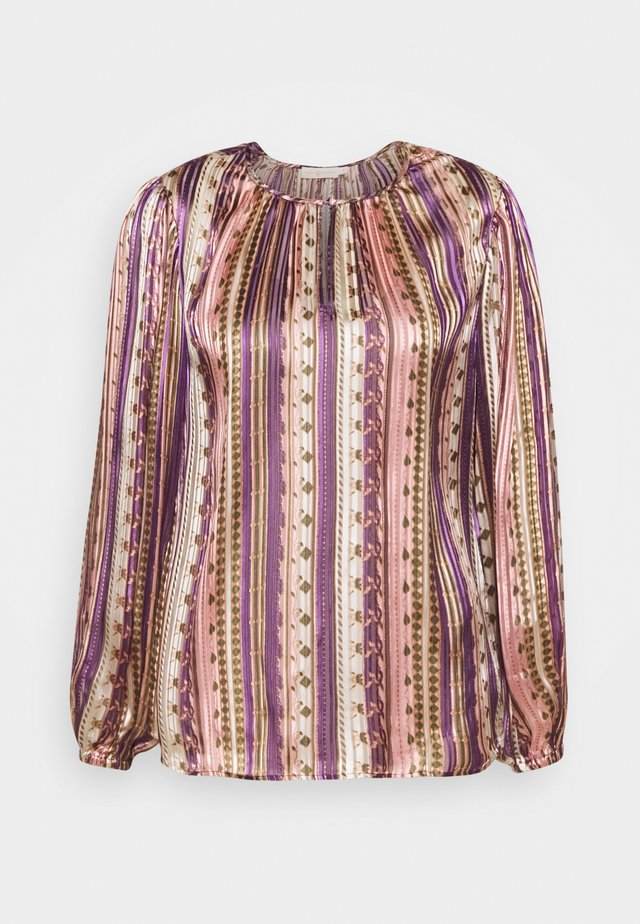 BURNOUT BLOUSE - Blouse - pink