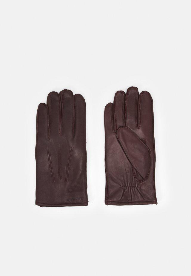 MILO GLOVE - Guanti - dark brown