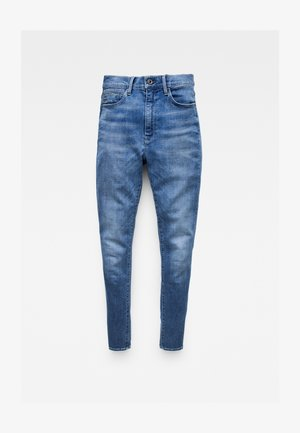 G-STAR SHAPE HIGH SUPER SKINNY - Jeans Skinny Fit - faded moroz blue