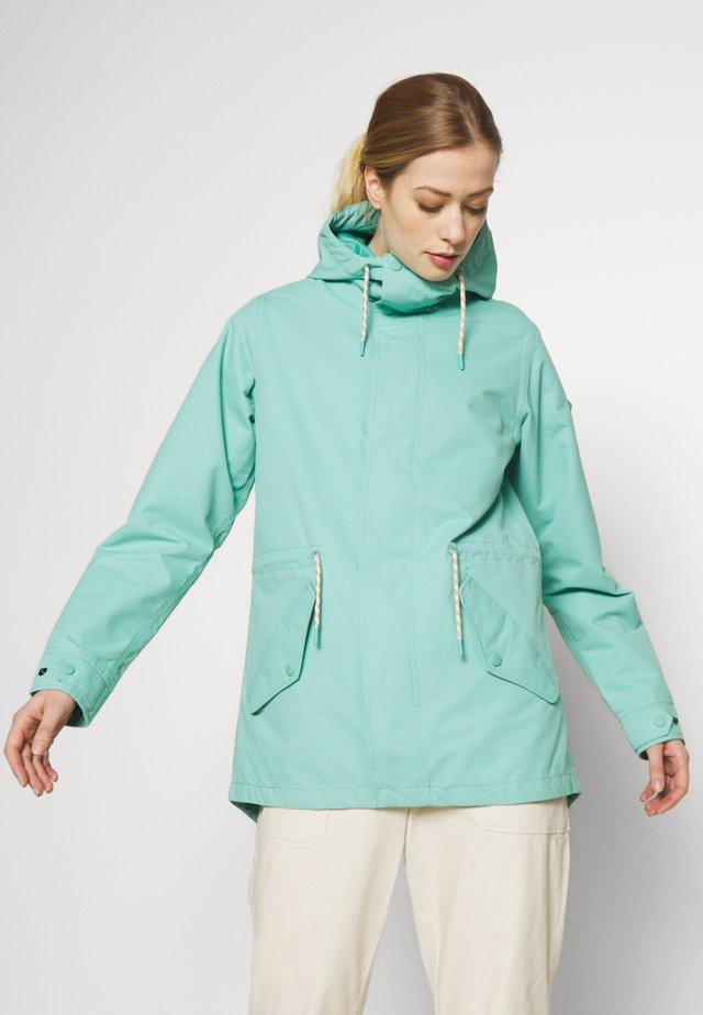 WOMENS SADIE JACKET - Outdoorová bunda - buoy blue