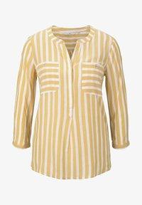 yellow white vertical stripe