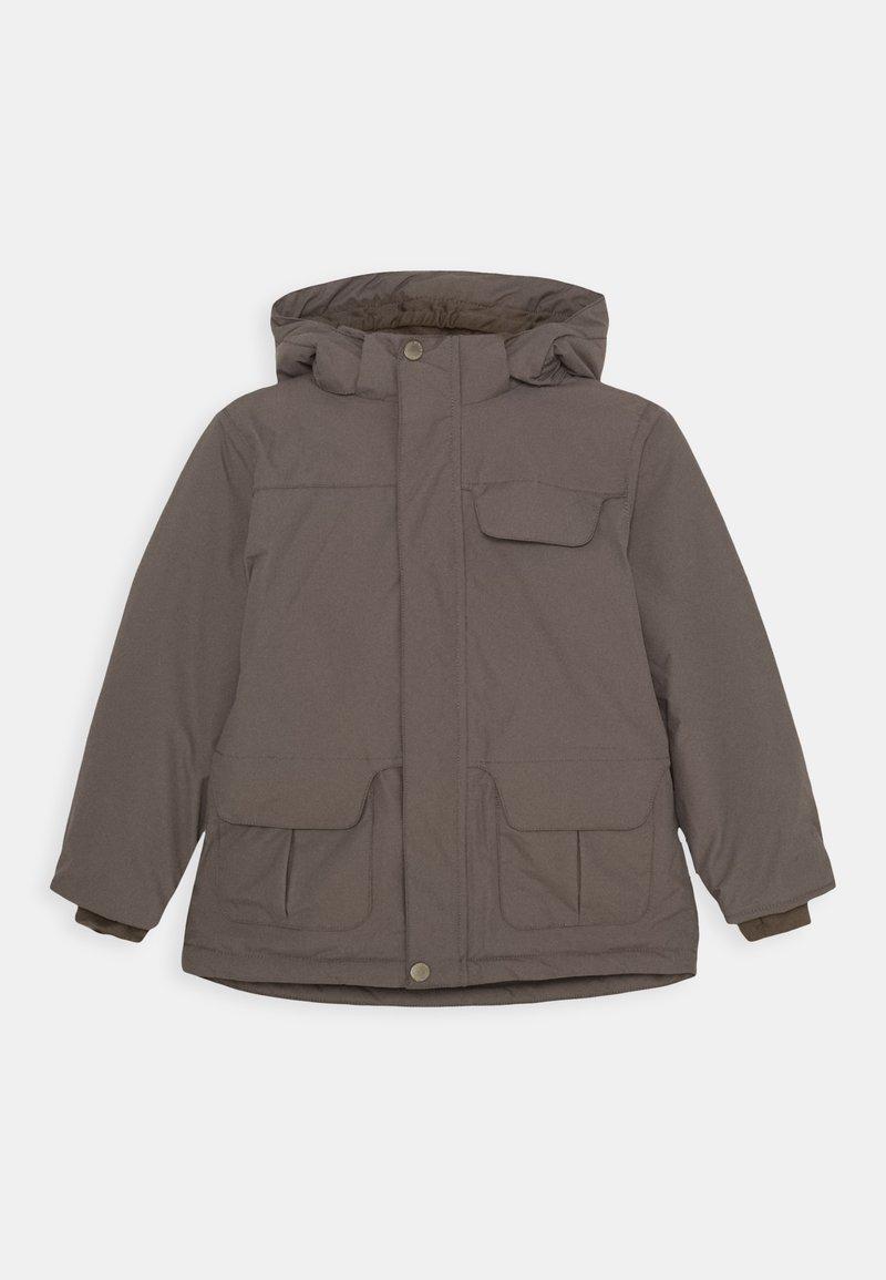 MINI A TURE - WALDER JACKET - Winter jacket - dark shadow