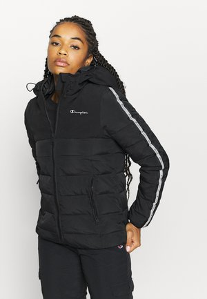 HOODED JACKET LEGACY - Trainingsjacke - black