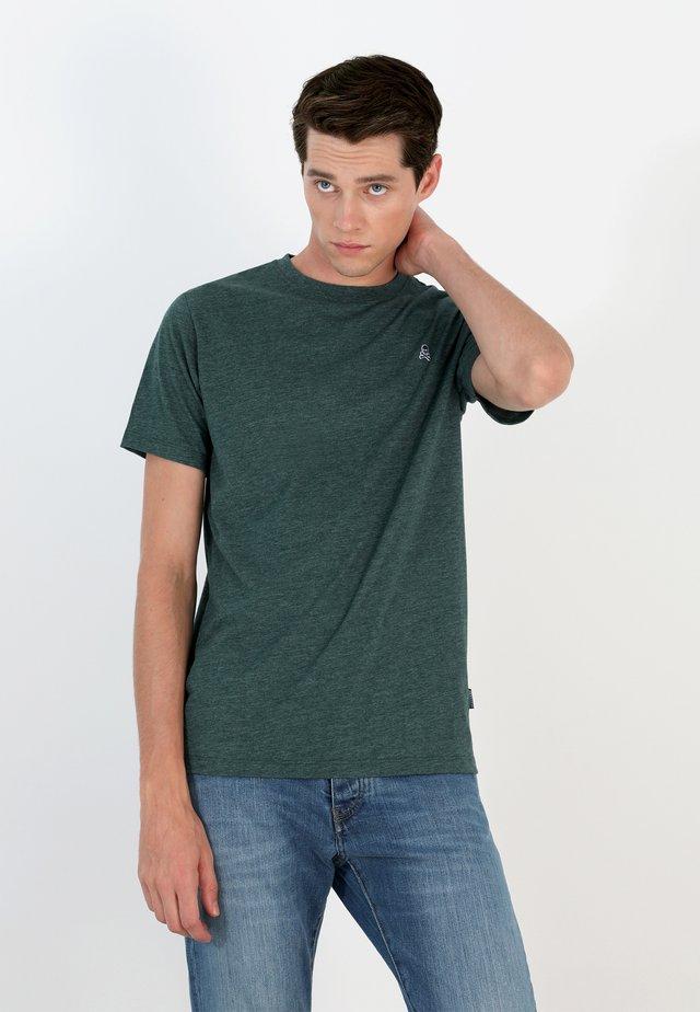 T-shirt basic - green vigore