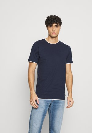 EBANKS - T-shirt - bas - navy
