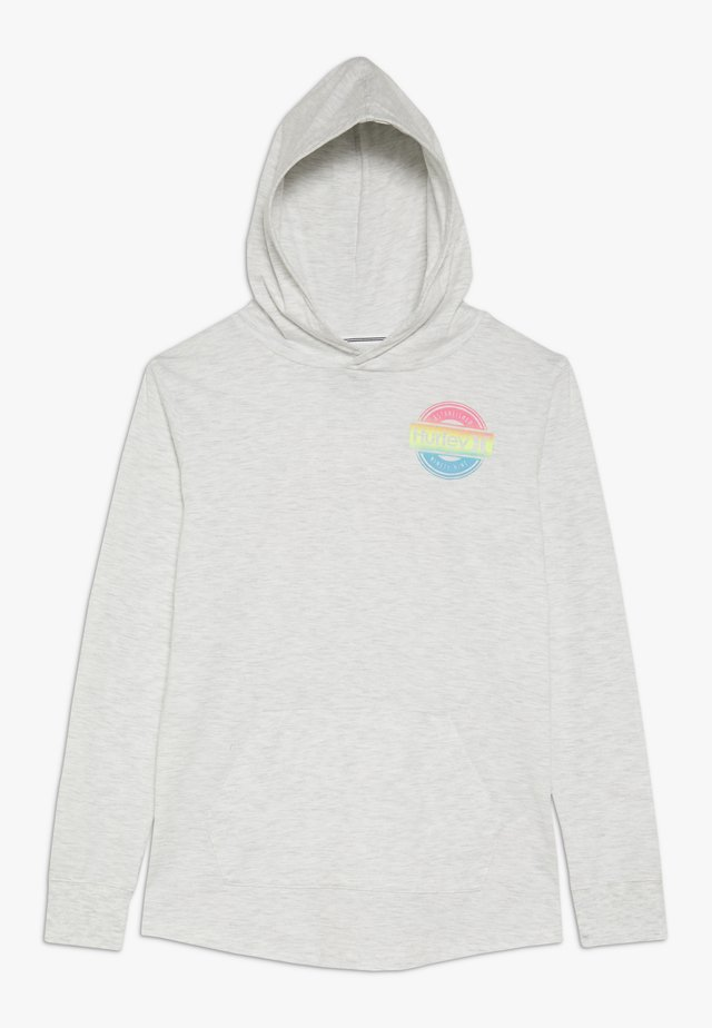 HOOD PLAY PULLOVER - Hoodie - birch heather