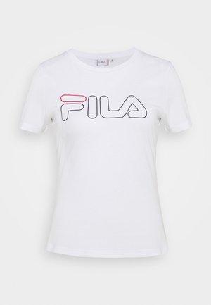 LADAN - Camiseta estampada - bright white