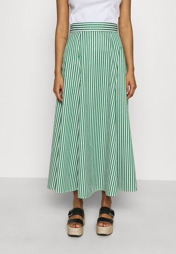 STRIPED SKIRTANCLE LENGTH