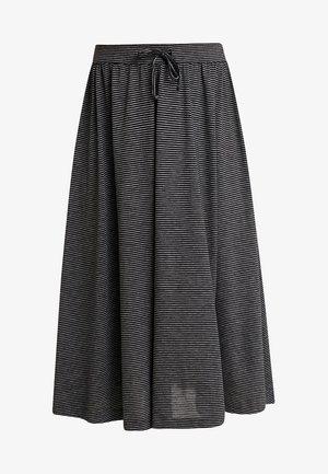 RENITA - Áčková sukně - black