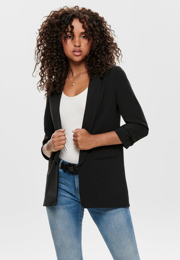 ONLY - ONLELLY  LIFE  - Manteau court - black