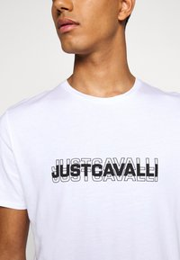 Just Cavalli - Print T-shirt - white - 5