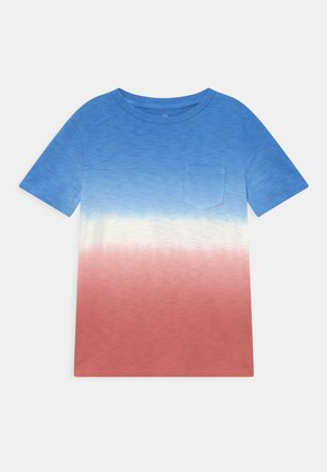 BOYS WASH EFFECT TEE - T-shirts print - blue