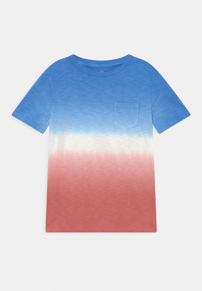 GAP - BOYS WASH EFFECT TEE - Print T-shirt - blue