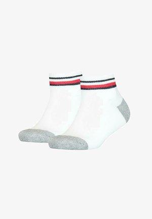 QUARTER, 2ER PACK - ICONIC,  - Socks - weiß