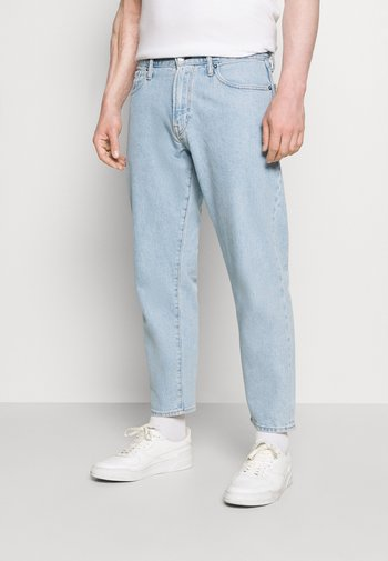 CROP FIT - Džíny Relaxed Fit - light wash