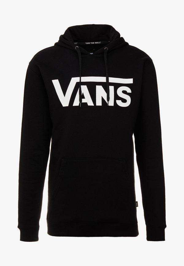 Vans CLASSIC - Bluza z kapturem - black/white/czarny Odzież Męska WZPX