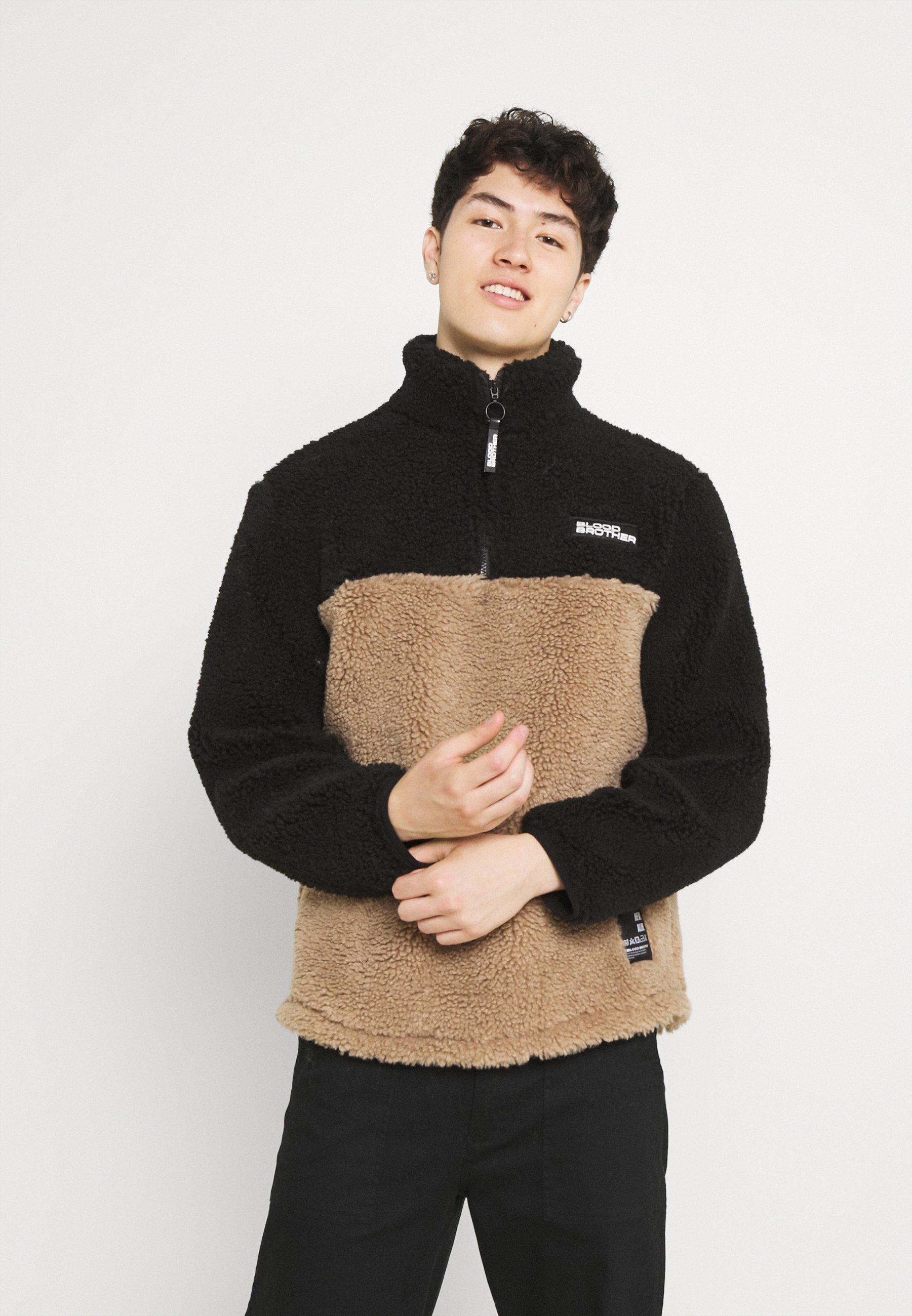 Homme CUT & SEW ZIP THRU - Sweat polaire