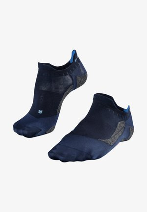 GO5 INVISIBLE - Trainer socks - space blue (6116)