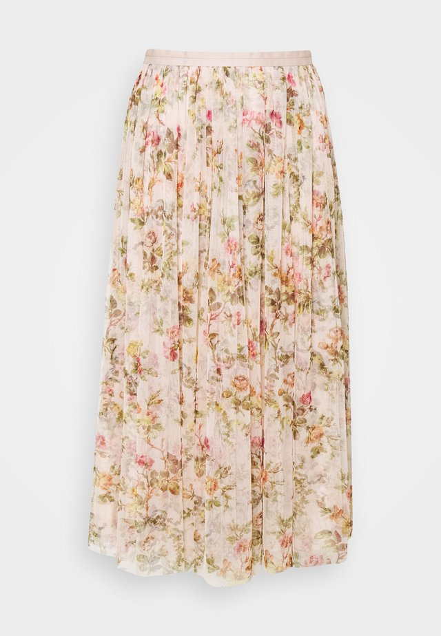 GARLAND MIDAXI SKIRT - Áčková sukně - strawberry icing
